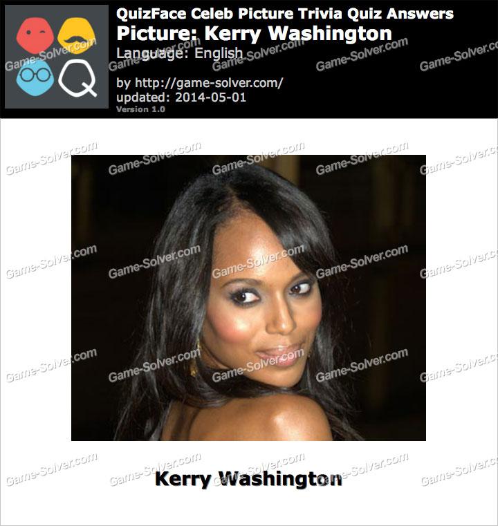 QuizFace Level Kerry Washington