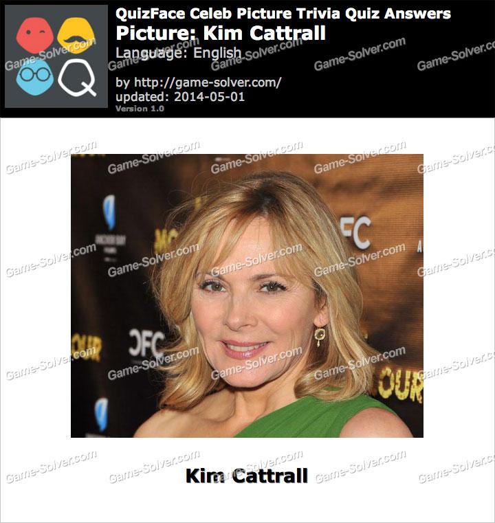 QuizFace Level Kim Cattrall