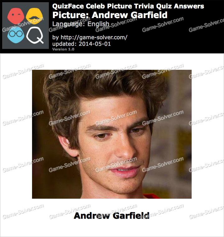 QuizFace Level Andrew Garfield