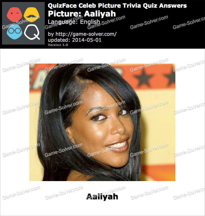 QuizFace Level Aaliyah