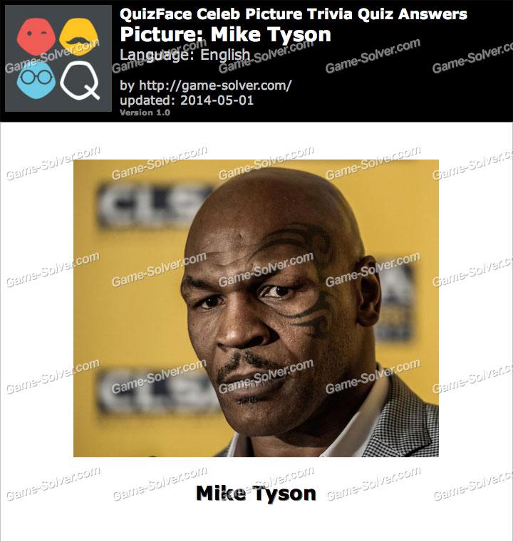 QuizFace Level Mike Tyson