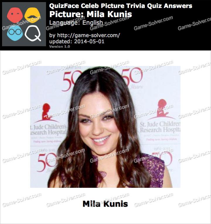 QuizFace Level Mila Kunis