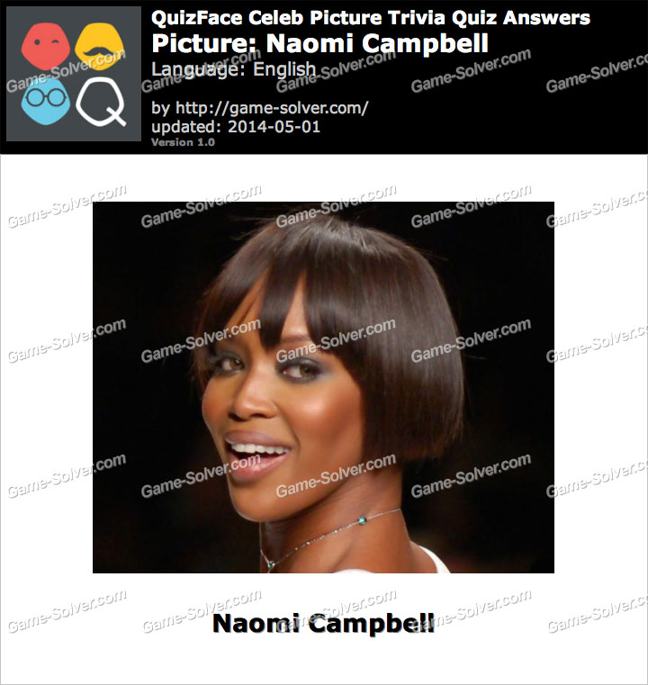 QuizFace Level Naomi Campbell