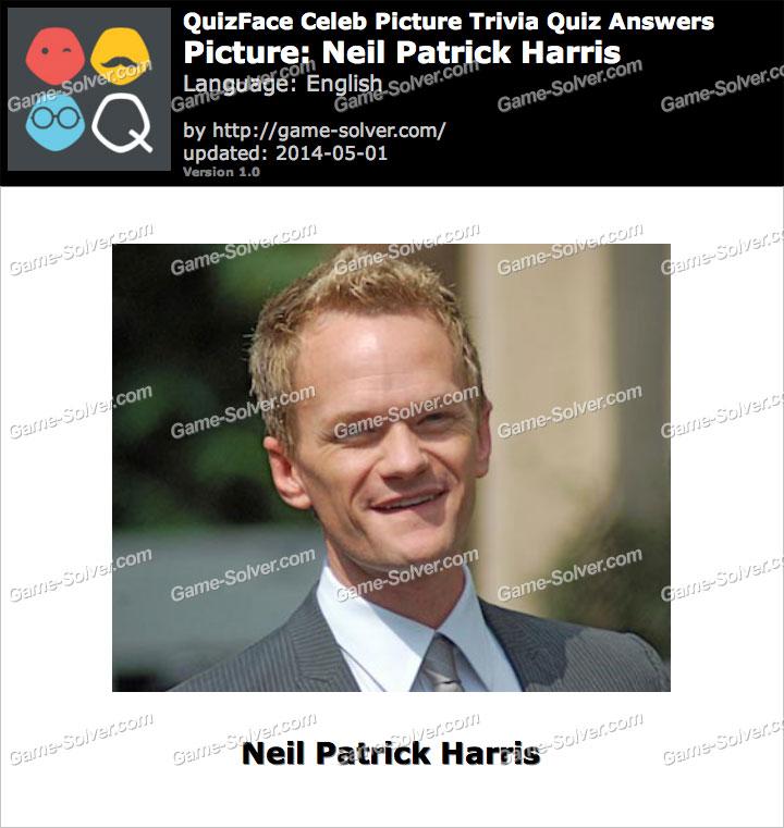 QuizFace Level Neil Patrick Harris