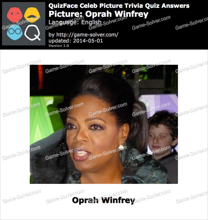QuizFace Level Oprah Winfrey