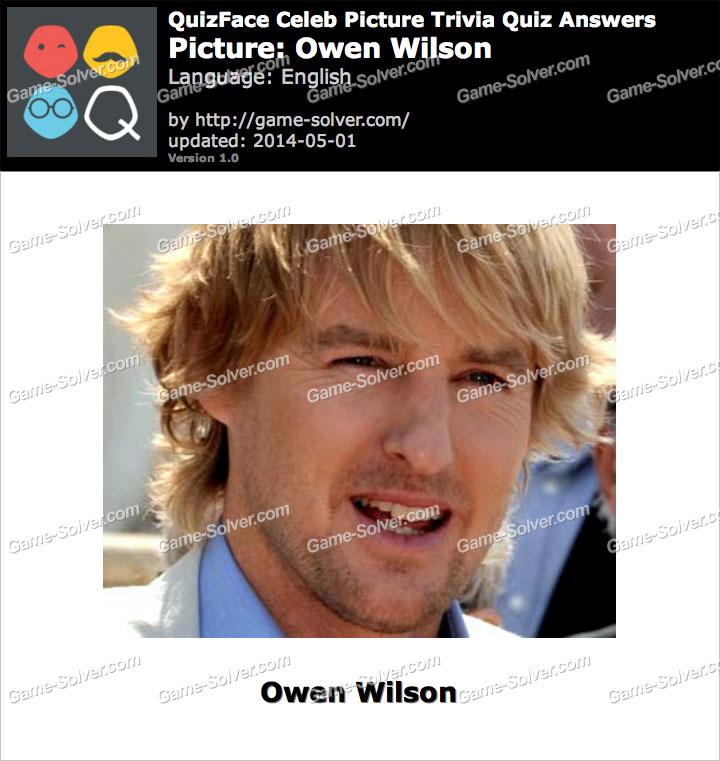 QuizFace Level Owen Wilson