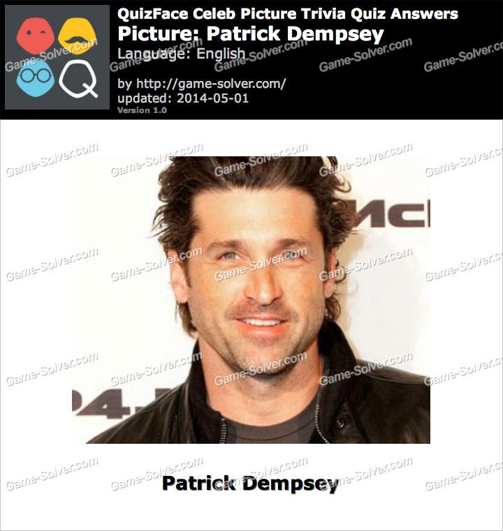 QuizFace Level Patrick Dempsey