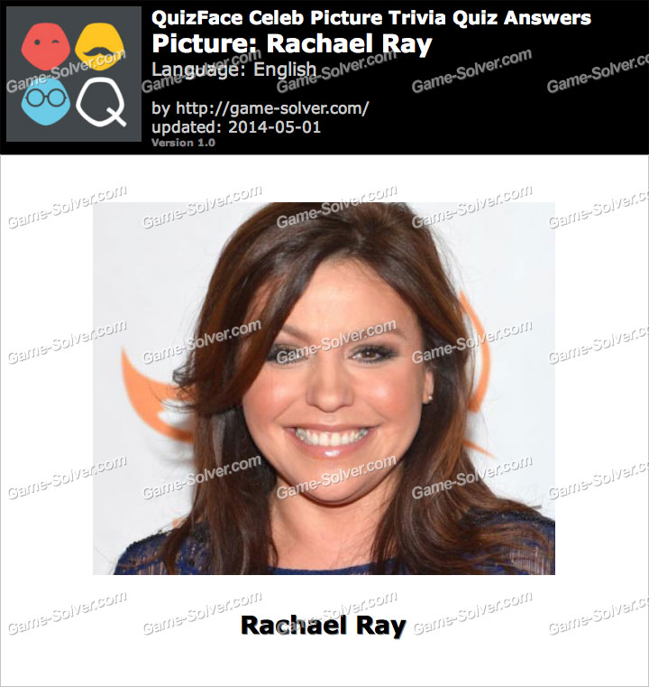 QuizFace Level Rachael Ray