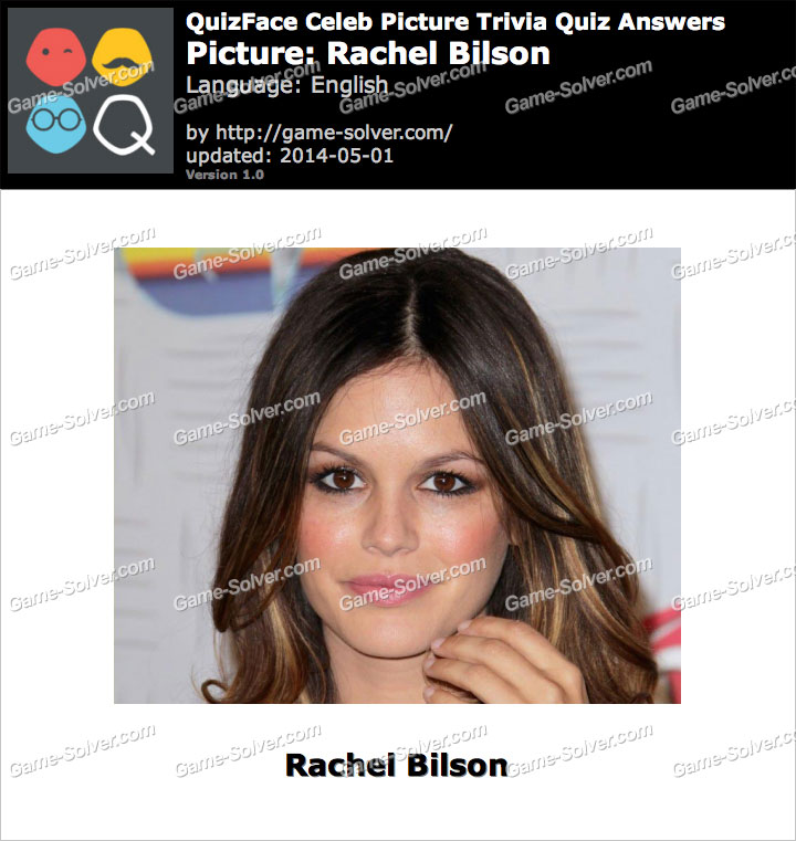 QuizFace Level Rachel Bilson
