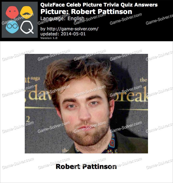 QuizFace Level Robert Pattinson