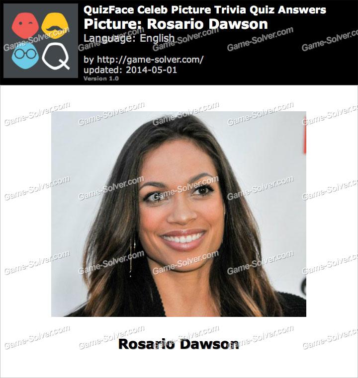 QuizFace Level Rosario Dawson