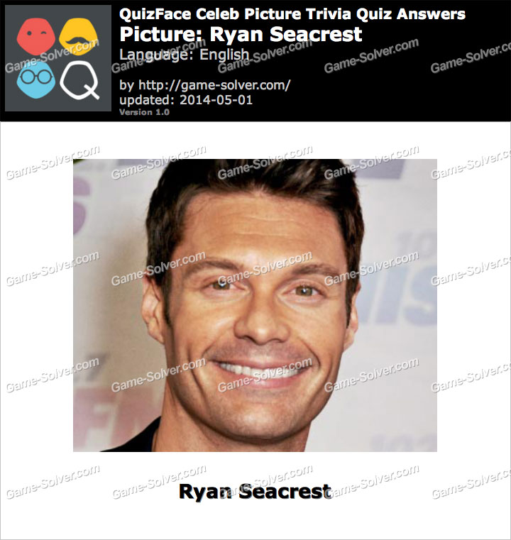 QuizFace Level Ryan Seacrest