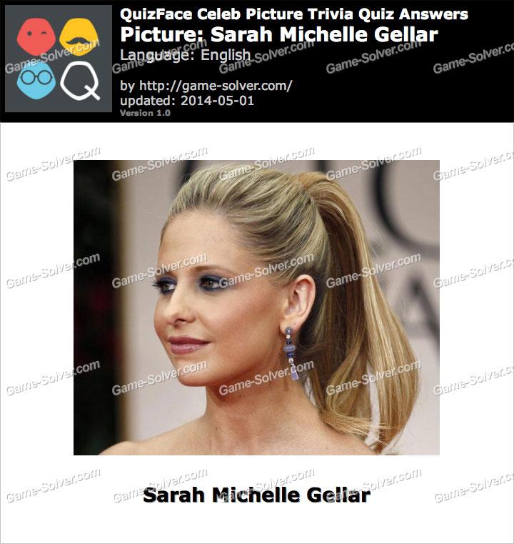 QuizFace Level Sarah Michelle Gellar