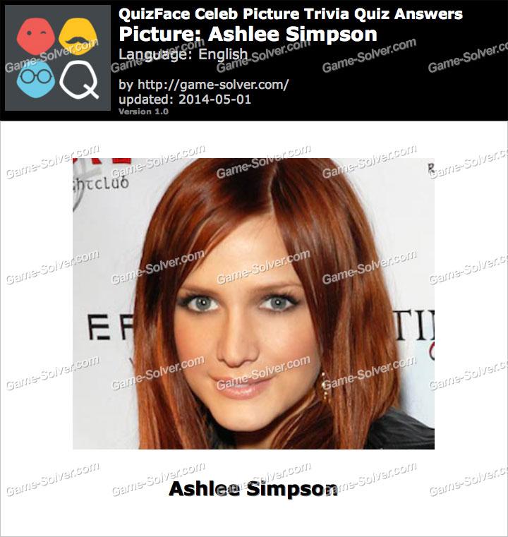 QuizFace Level Ashlee Simpson