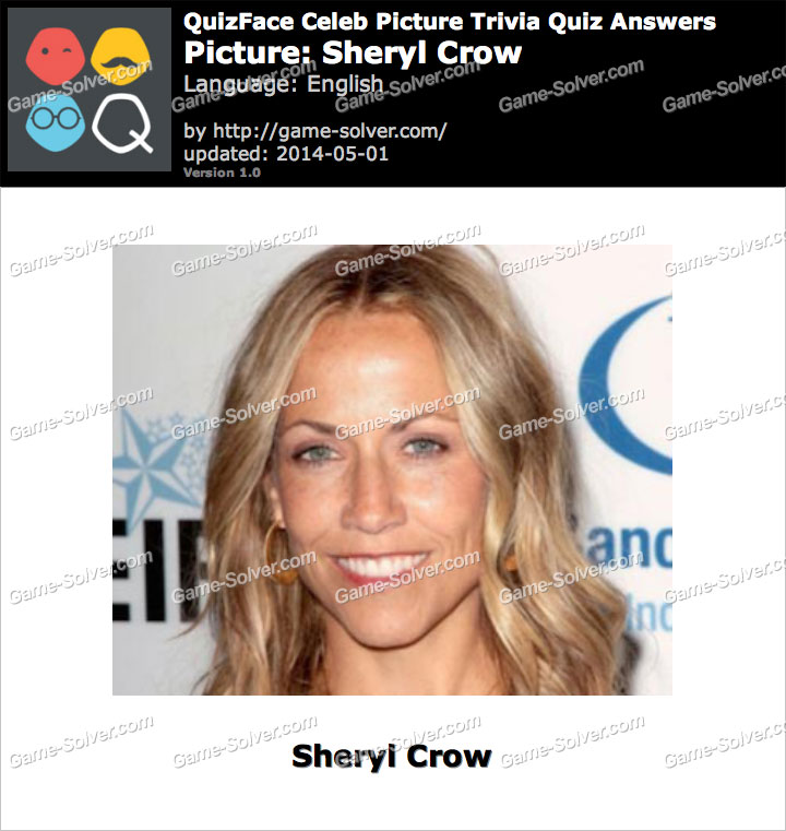 QuizFace Level Sheryl Crow