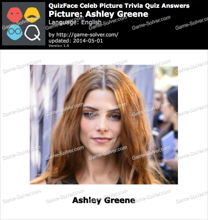 QuizFace Level Ashley Greene