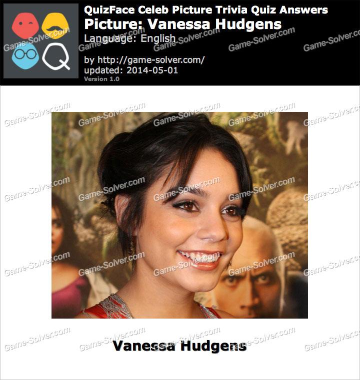 QuizFace Level Vanessa Hudgens