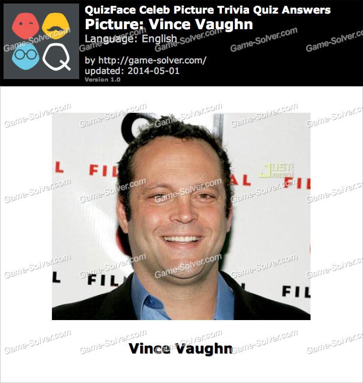 QuizFace Level Vince Vaughn