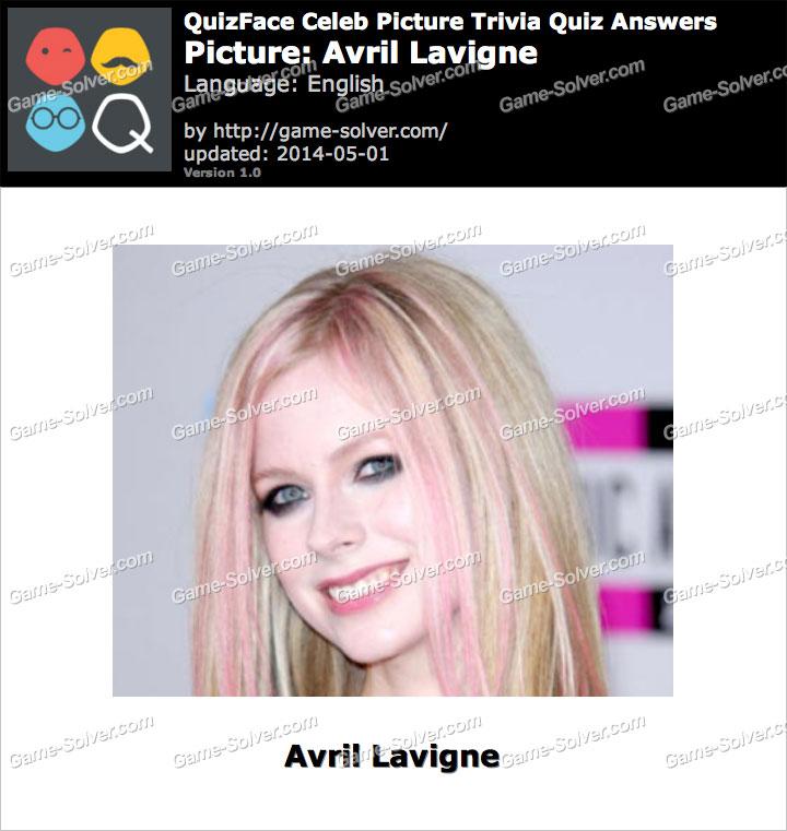QuizFace Level Avril Lavigne