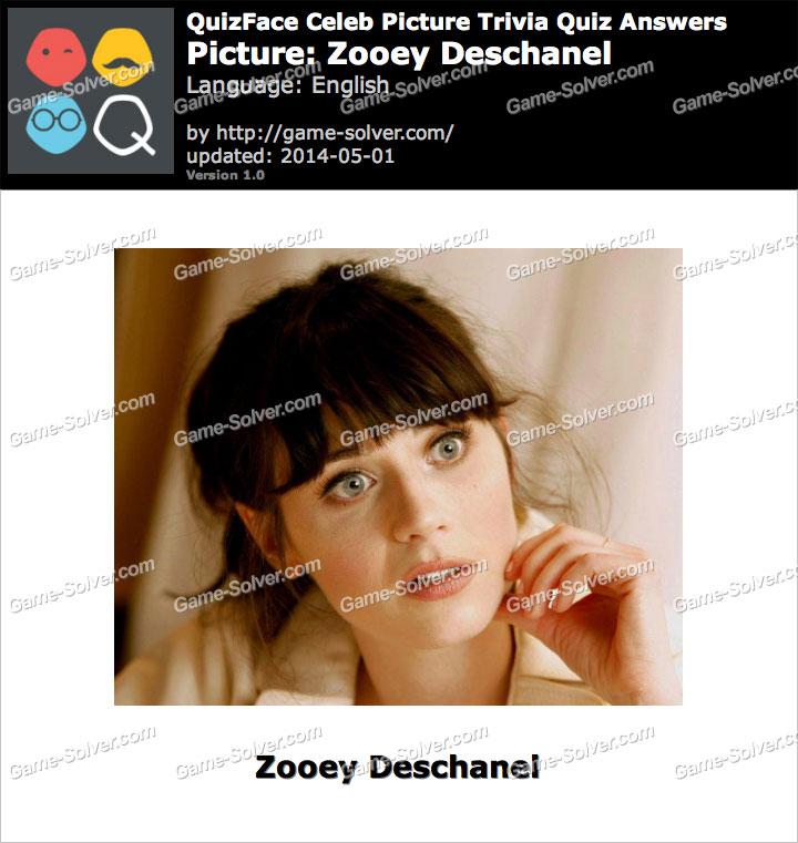 QuizFace Level Zooey Deschanel