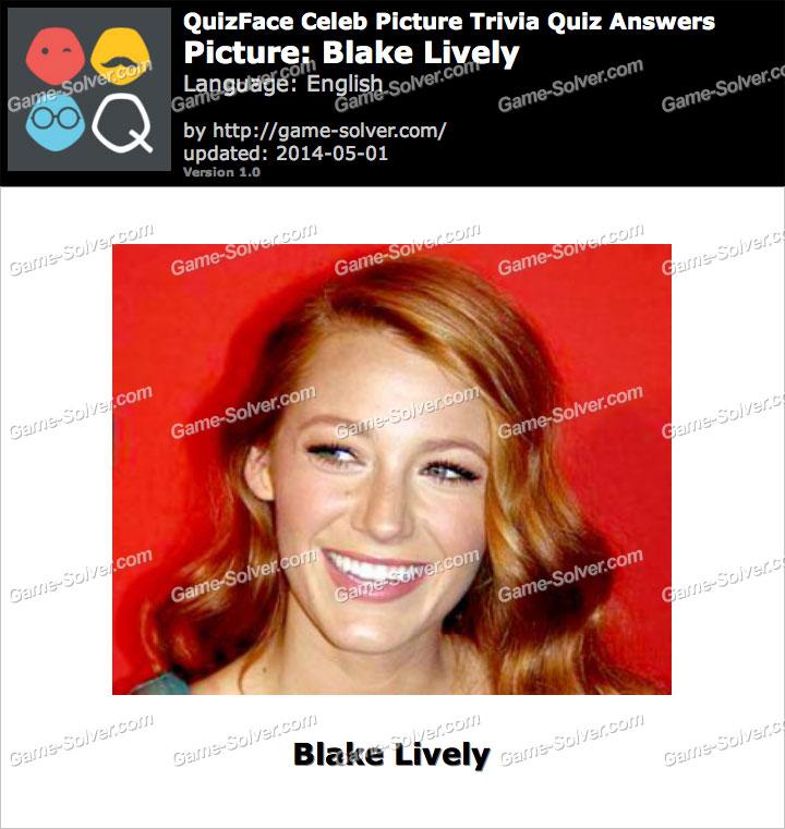 QuizFace Level Blake Lively