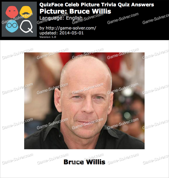 QuizFace Level Bruce Willis