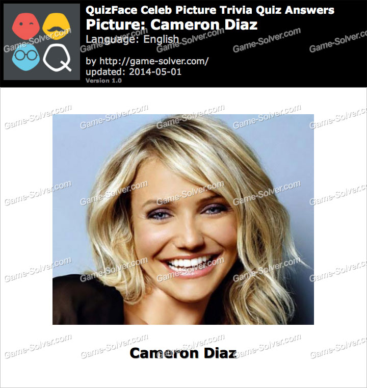 QuizFace Level Cameron Diaz