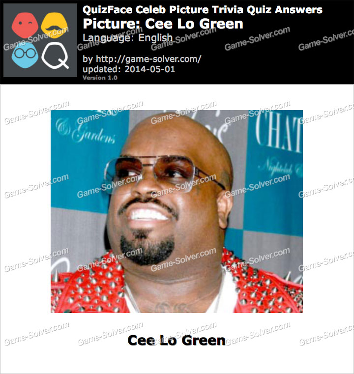 QuizFace Level Cee Lo Green