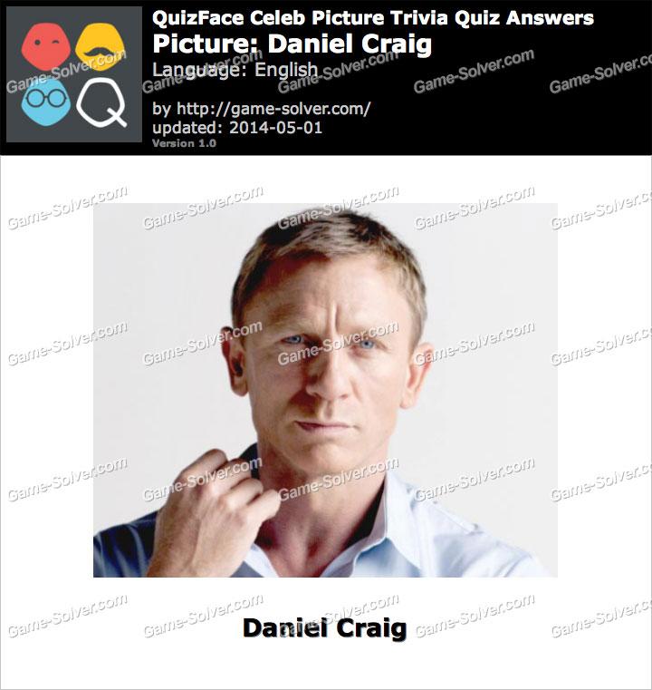 QuizFace Level Daniel Craig