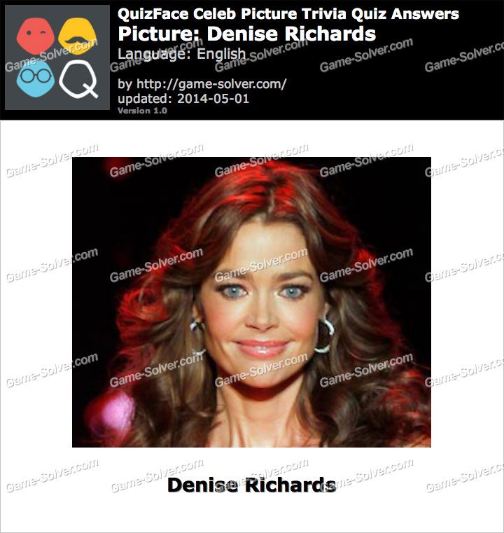 QuizFace Level Denise Richards