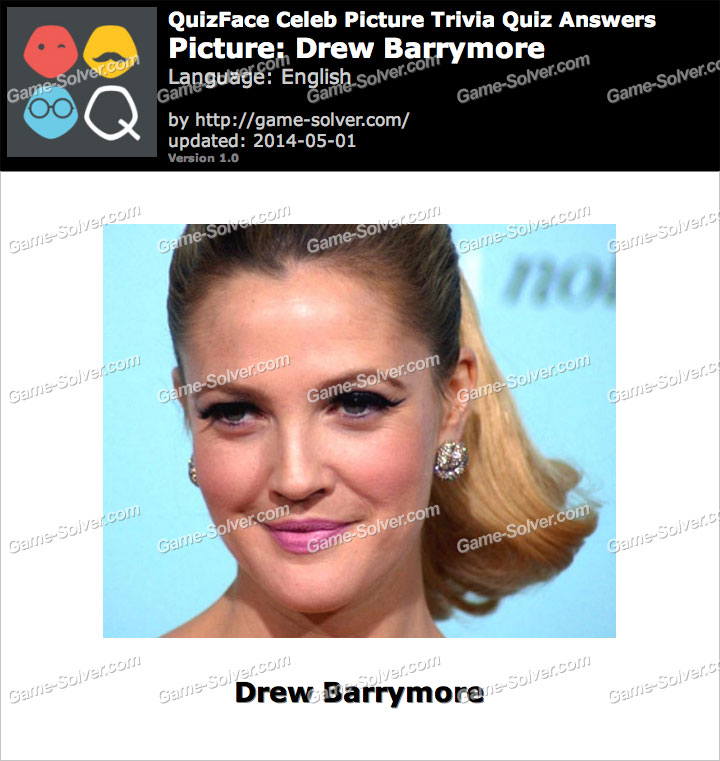 QuizFace Level Drew Barrymore