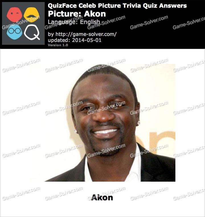 QuizFace Level Akon