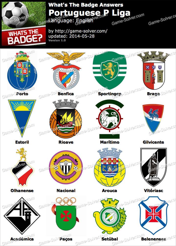 Whats The Badge Portuguese P Liga Answers