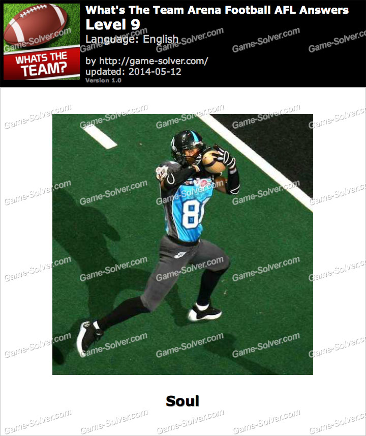 What's The Team Arena Football AFL Level 9