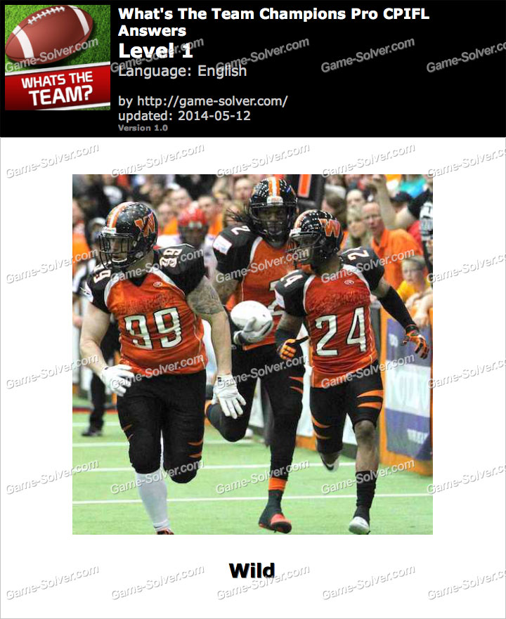 What's The Team Champions Pro CPIFL Level 1