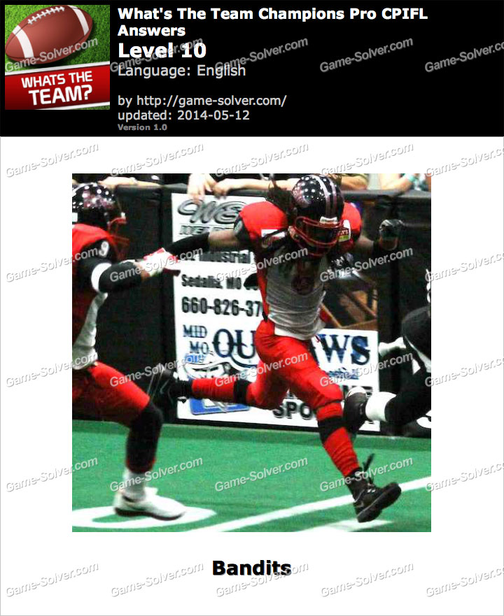 What's The Team Champions Pro CPIFL Level 10