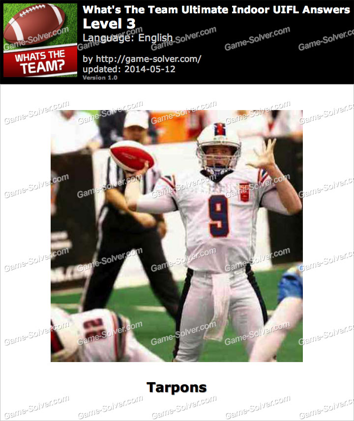 What's The Team Ultimate Indoor UIFL Level 3