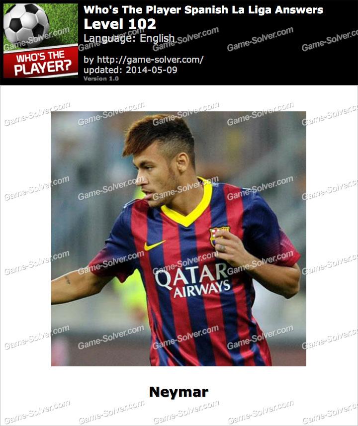 Who's The Player Spanish La Liga Level 102