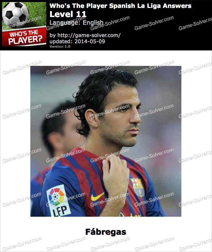 Who's The Player Spanish La Liga Level 11