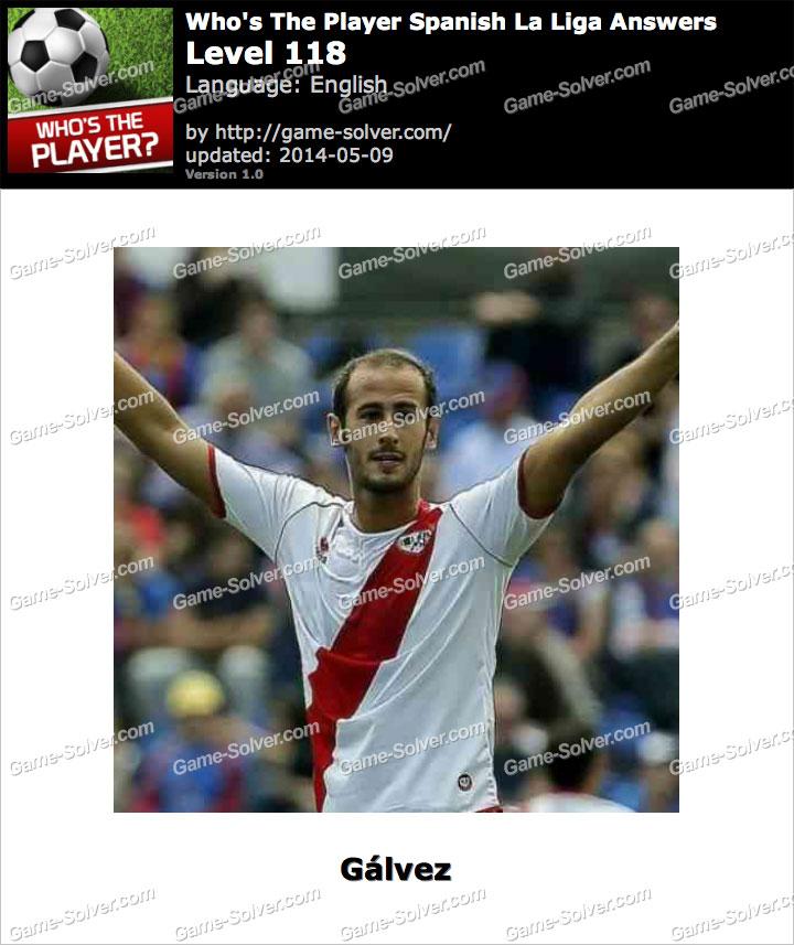 Who's The Player Spanish La Liga Level 118