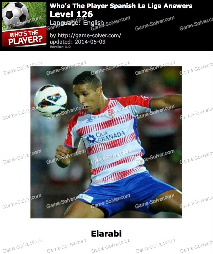 Who's The Player Spanish La Liga Level 126