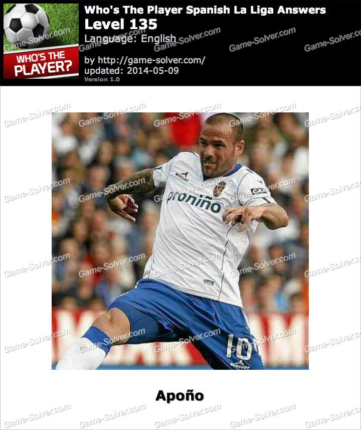 Who's The Player Spanish La Liga Level 135