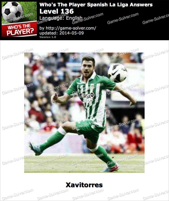 Who's The Player Spanish La Liga Level 136