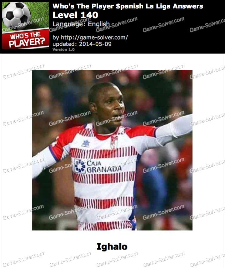Who's The Player Spanish La Liga Level 140