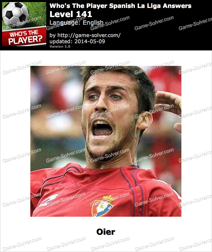Who's The Player Spanish La Liga Level 141