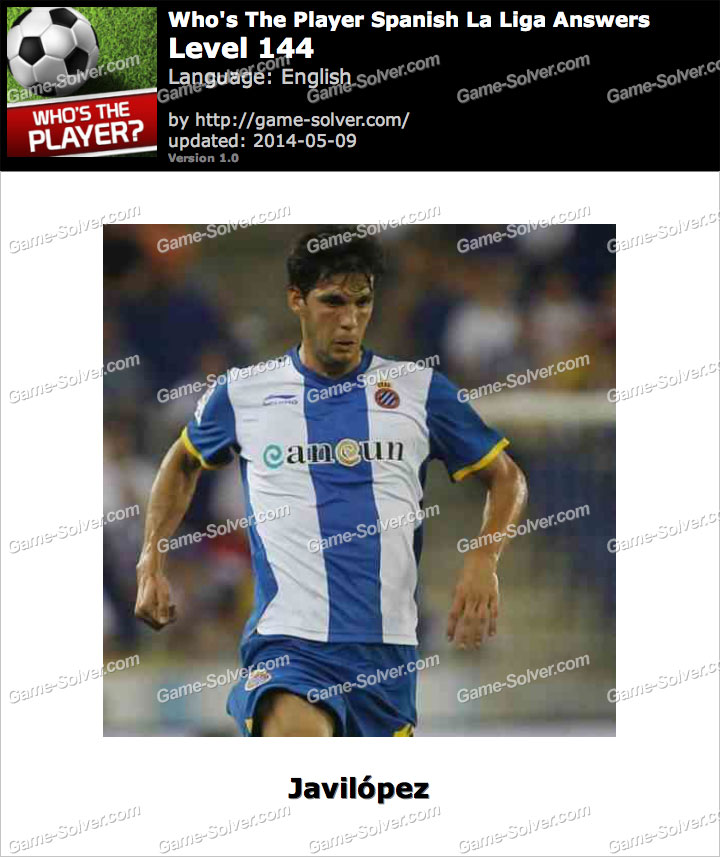 Who's The Player Spanish La Liga Level 144