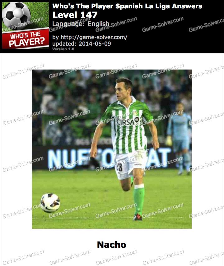 Who's The Player Spanish La Liga Level 147
