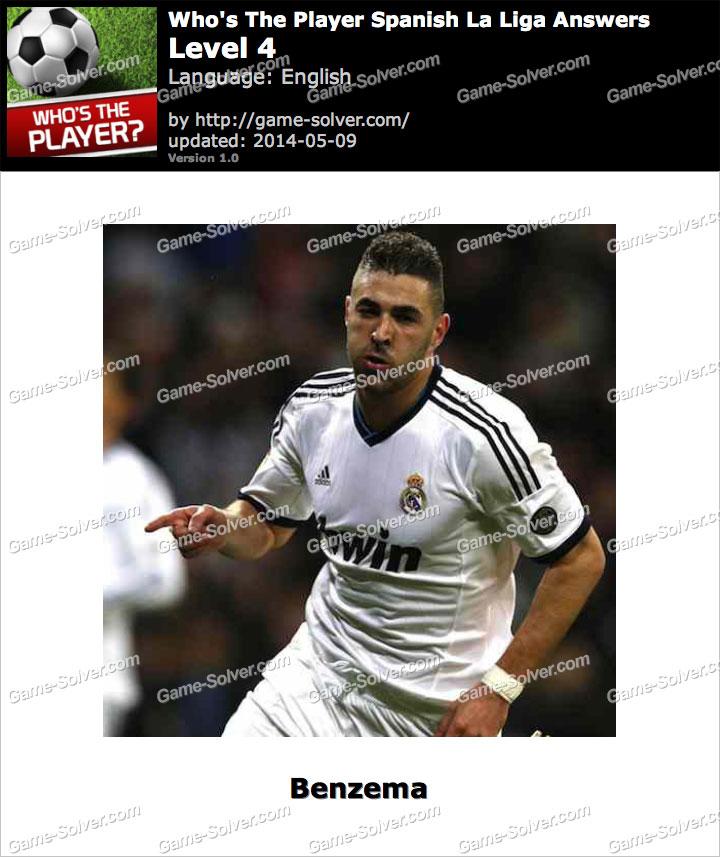 Who's The Player Spanish La Liga Level 4