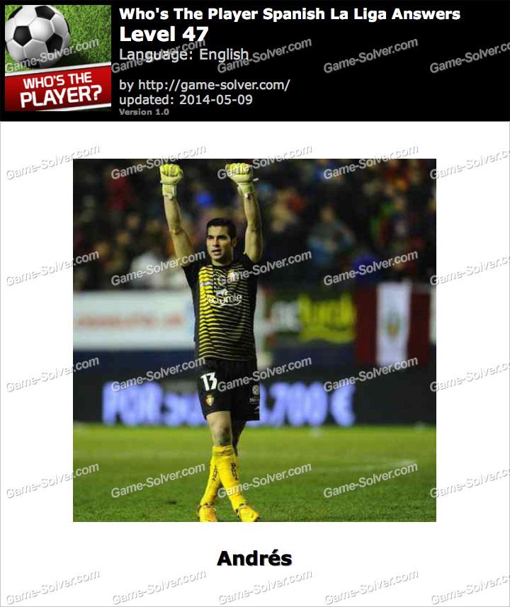 Who's The Player Spanish La Liga Level 47