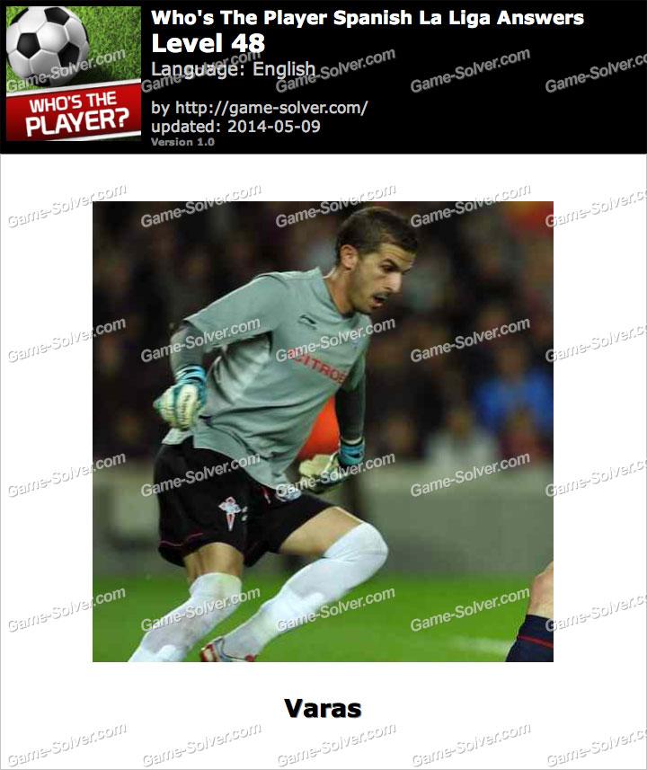 Who's The Player Spanish La Liga Level 48